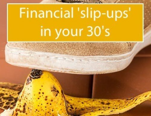 Common financial mistakes in your thirties
