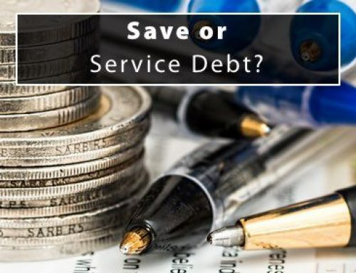 Save or Service Debt?